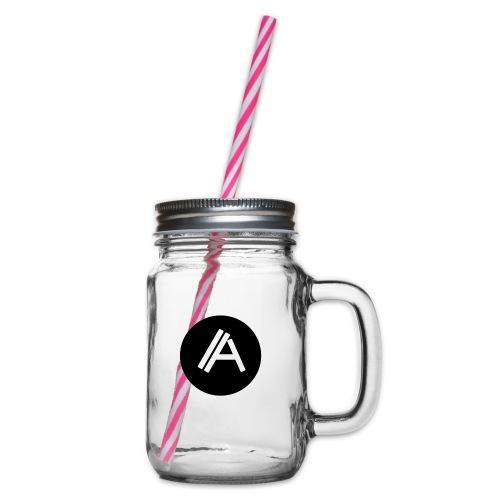 Logo Andyboy - Henkelglas mit Schraubdeckel