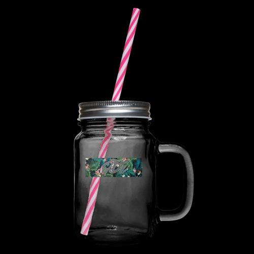 GABE FLOW - Henkelglas mit Schraubdeckel