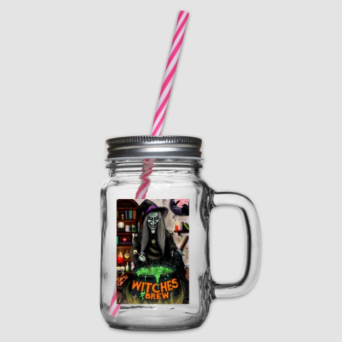 The Witch - Glass jar with handle and screw cap