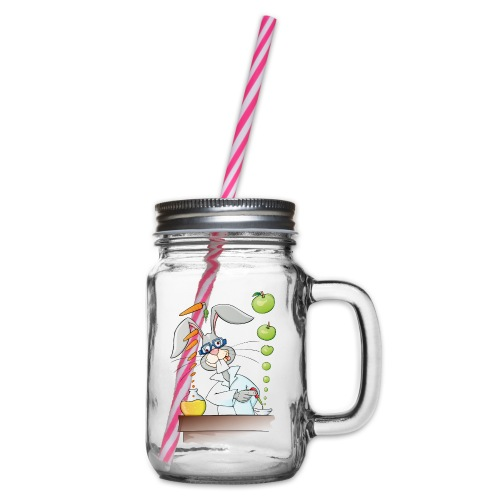 Versuchskaninchen - Henkelglas mit Schraubdeckel