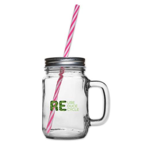 REuse REduce REcycle - Boccale con coperchio avvitabile