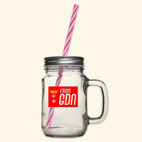 #fromGDN - Słoik do picia z pokrywką