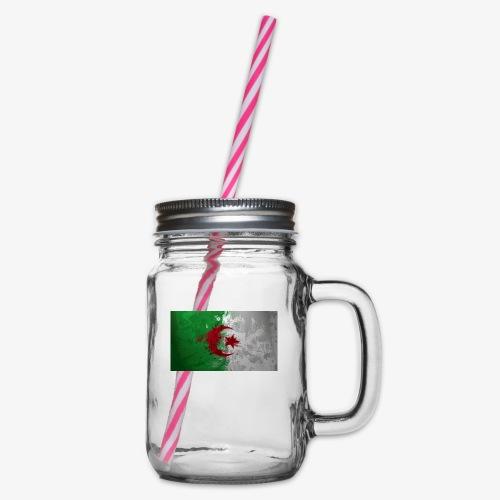 Drapeau Algérienne - Bocal à boisson