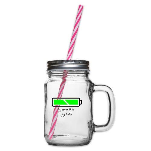 lader_2 - Glass med hank og skrulokk