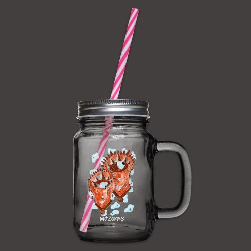 Gémeaux Négutif - Bocal à boisson