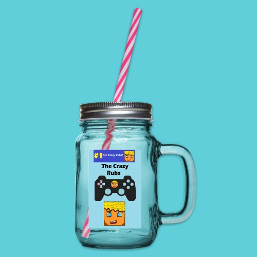 games controller - Glass jar with handle and screw cap