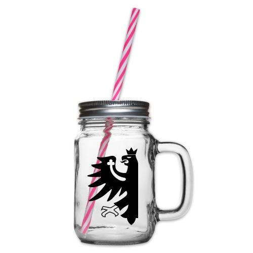 Tirol - Henkelglas mit Schraubdeckel