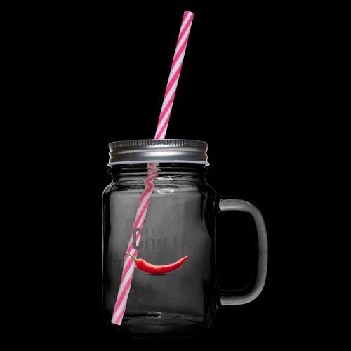 Chill - Henkelglas mit Schraubdeckel