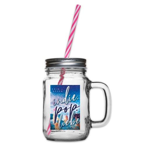 Indie.Pop.Liebe - Henkelglas mit Schraubdeckel