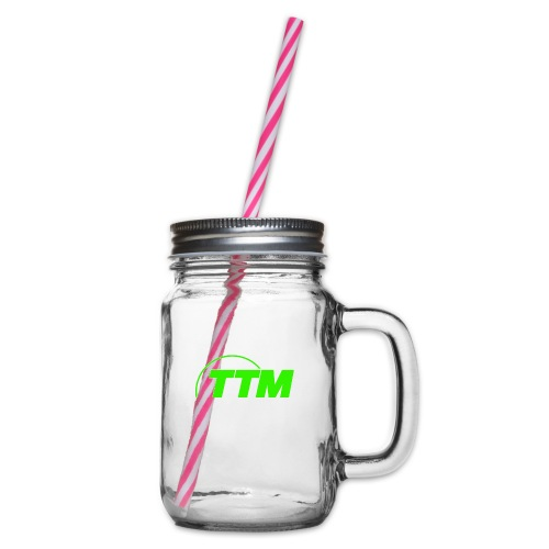 TTM - Glass jar with handle and screw cap