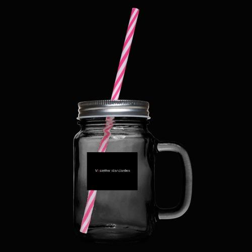 Vi Sætter Standarden - Drikkekrus med skruelåg