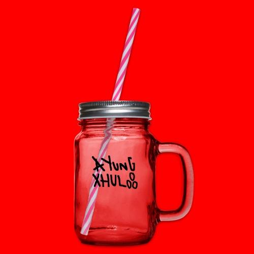 AYungXhulooo - Original - SloppyTripleO - Glass jar with handle and screw cap