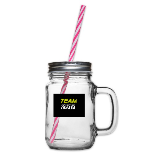 Truxenmerch - Glas med handtag och skruvlock