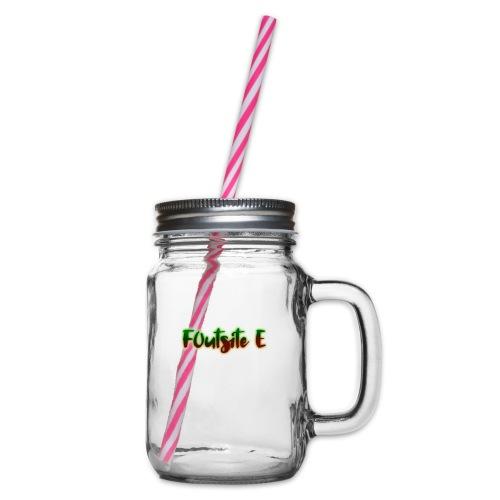 F0utsite E (HALLOWEEN Edition) - Glas med handtag och skruvlock