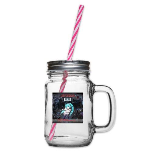 lillabloggen100 - Glas med handtag och skruvlock