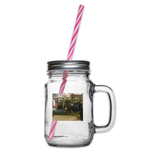 The Chromebook gamer mark.1 - Glass jar with handle and screw cap