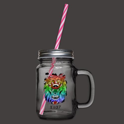 lion multi-color - Bocal à boisson