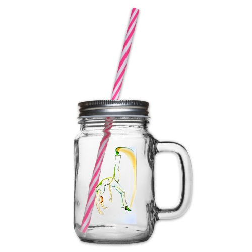 small capo 4 - Glass jar with handle and screw cap