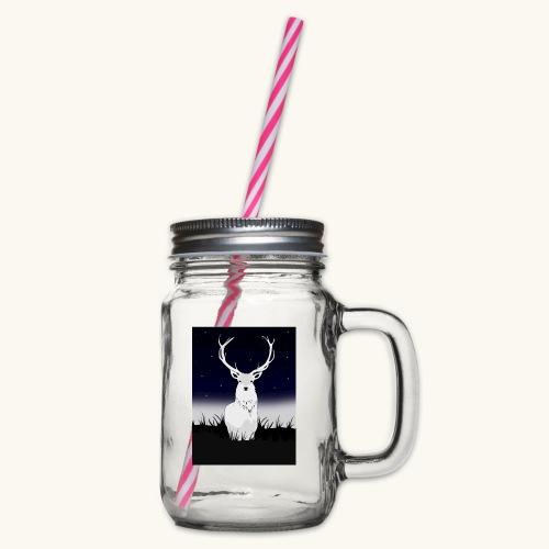 Cerf Blanc - Bocal à boisson