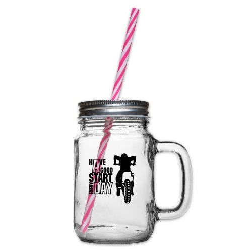 Have a good Start MX (HQ) - Henkelglas mit Schraubdeckel