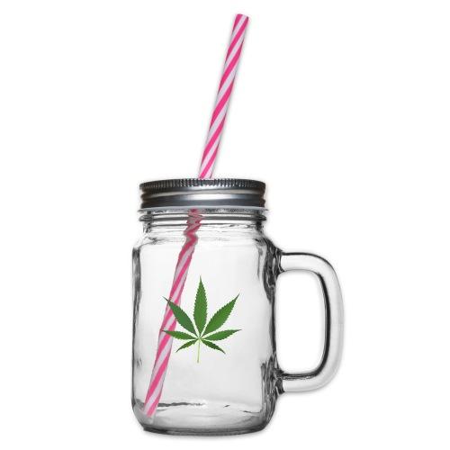 2000px-Cannabis_leaf_2 - Drikkekrus med skruelåg