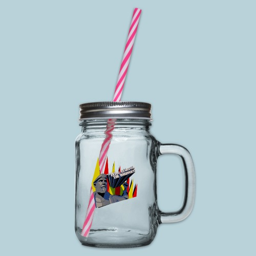 RATWORKS Whopper - Glass jar with handle and screw cap