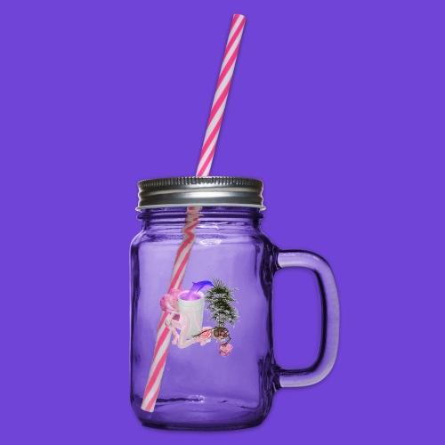 Purple Drank - Boccale con coperchio avvitabile