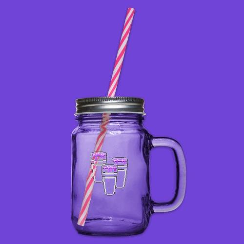 Purple - Boccale con coperchio avvitabile