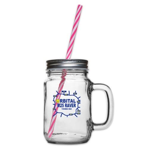 Orbital M25 Acid Hosue Raver - Glass jar with handle and screw cap