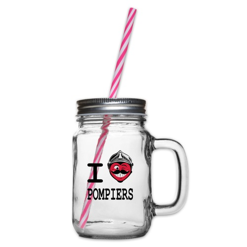 i_love_pompier_4 - Bocal à boisson