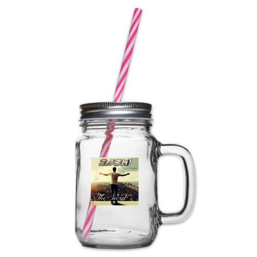 SASH! ***The Secret*** - Glass jar with handle and screw cap