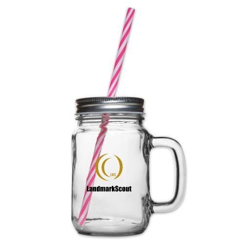 Tshirt Yellow Front logo 2013 png - Glass jar with handle and screw cap