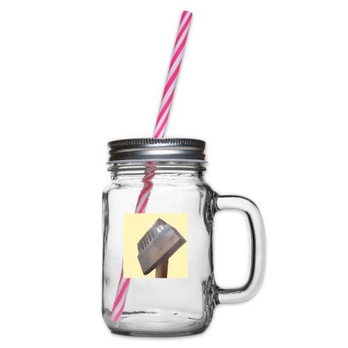 Klausens Unkrautbürste - Henkelglas mit Schraubdeckel