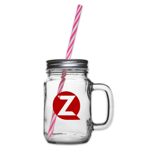QZ - Glass jar with handle and screw cap