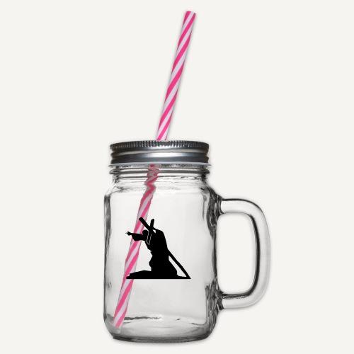 Sursum corda 3 - Słoik do picia z pokrywką