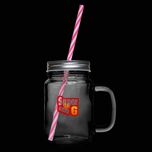SuperG-Gang - Drikkekrus med skruelåg