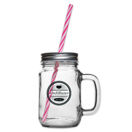ItsXBlaze Logo 3 Hoodie - Drinkbeker met handvat en schroefdeksel