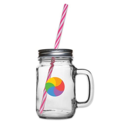 BeachBal - Drinkbeker met handvat en schroefdeksel