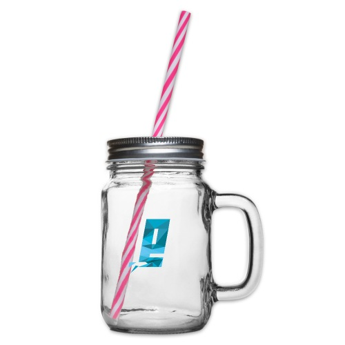 Eventuell Logo small - Shirt White - Henkelglas mit Schraubdeckel