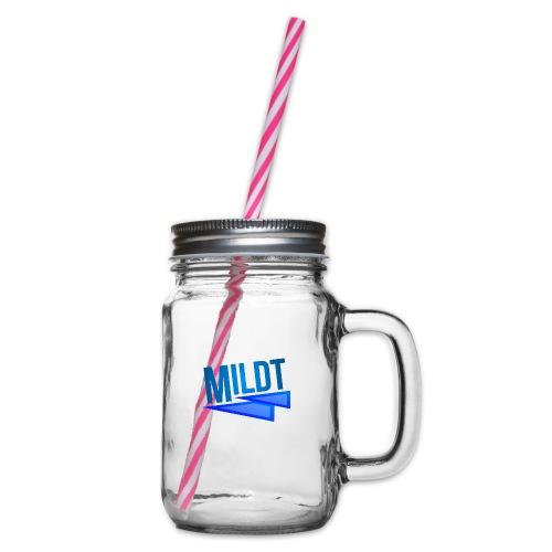 MILDT Mok - Drinkbeker met handvat en schroefdeksel