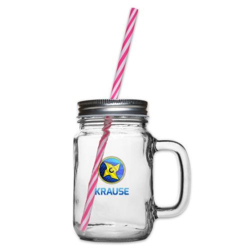 Krause shirt - Drikkekrus med skruelåg