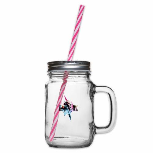 My Style - Henkelglas mit Schraubdeckel