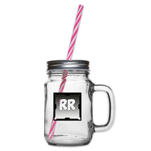 Rixel Simpel - Glas med handtag och skruvlock