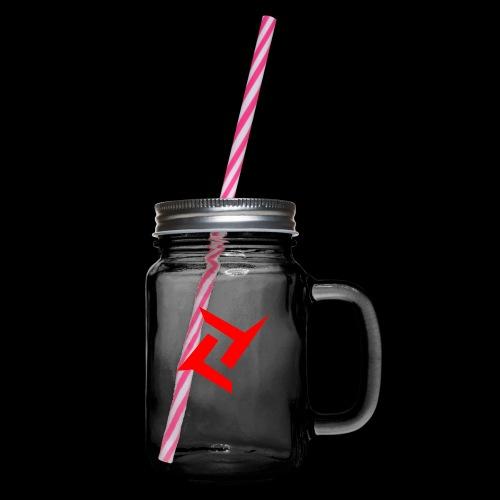 New logo 2 png - Drinkbeker met handvat en schroefdeksel
