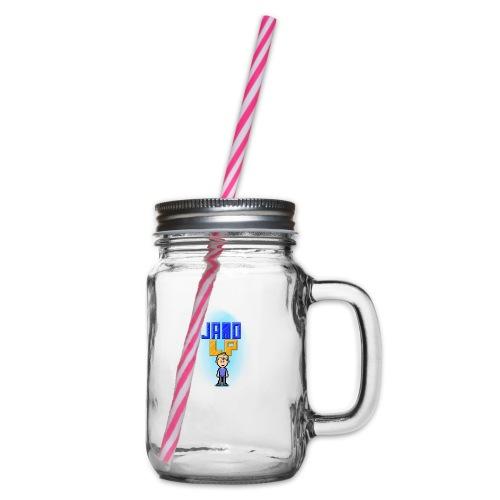 Pixel Jamo - Drikkekrus med skruelåg