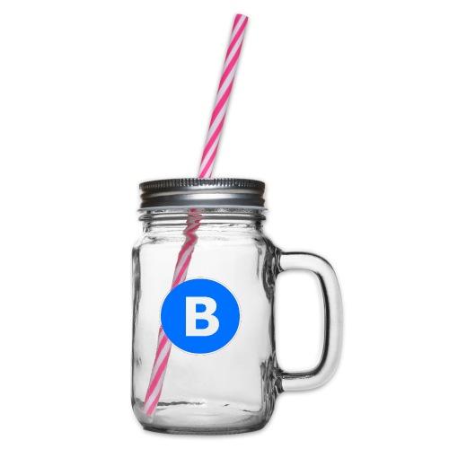BluePrison - Drikkekrus med skruelåg