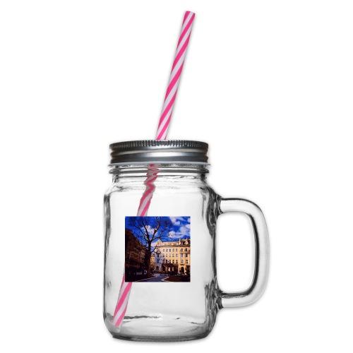 Budapest - Henkelglas mit Schraubdeckel