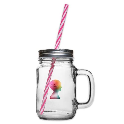 Gwhello - Drinkbeker met handvat en schroefdeksel