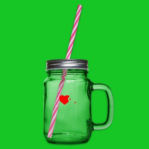 iCorpus - Drinkbeker met handvat en schroefdeksel