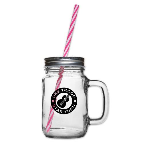 Uke Troop - Glass jar with handle and screw cap